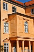 Travel photography:Facade detail of Eutin Castle, Germany