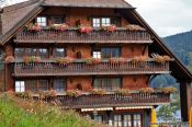 Travel photography:Black Forest house near Titisee, Germany