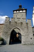 Travel photography:Bodan city gate in Constance (Konstanz), Germany