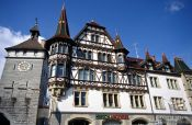 Travel photography:Houses in Constance (Konstanz), Germany