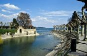 Travel photography:City park in Constance (Konstanz), Germany