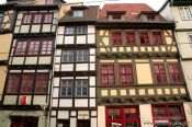 Travel photography:Traditional houses in Erfurt, Germany