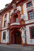 Travel photography:Regional parliament building (Landtag) in Erfurt, Germany