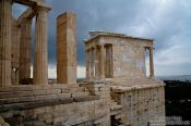 Travel photography:Entrance to the Athens Akropolis, Greece