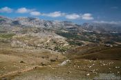 Travel photography:Landscape near Sfakion, Grece