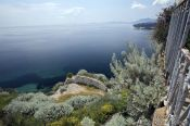 Travel photography:View from atop the Old Fortress in Corfu, Greece