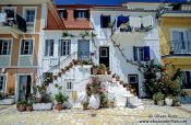 Travel photography:Traditional houses in Parga, Greece