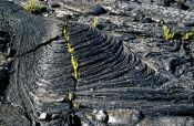 Travel photography:Cooled lava flow, Hawaii USA