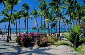 Travel photography:Kahaluu Beach Park on Oahu, Hawaii USA