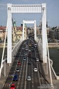 Travel photography:The Elisabeth Bridge in Budapest, Hungary