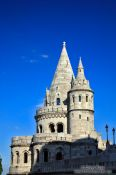 Travel photography:Fisherman´s Bastion ín the Budapest castle, Hungary