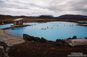 Travel photography:Jarðböð public bath, Iceland