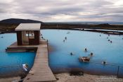 Travel photography:Jarðböð public bath near Mývatn, Iceland