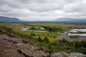 Travel photography:The ridge dividing the Eurasian from the North American plate, Iceland