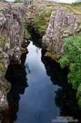 Travel photography:River on the Golden Circle tourist route, Iceland