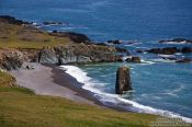 Travel photography:Coast line near Djúpivogur, Iceland