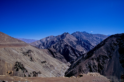 Mountains between Leh and Drass