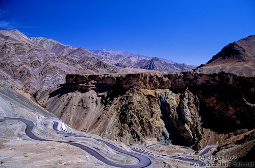 Landscape between Leh and Drass