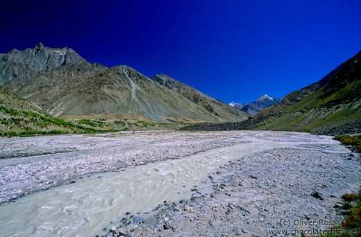 Landscape between Manali and Leh