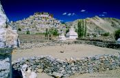 Travel photography:Thiksey Gompa, India
