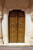 Travel photography:Door at the Junagarh Fort in Bikaner, India