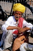 Travel photography:Man at Jodhpur market, India