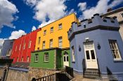 Travel photography:Colourful towers of Dublin Castle , Ireland