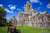 Travel photography:Christ Church Cathedral in Dublin, Ireland
