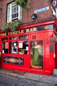 Travel photography:Dublin´s famous Temple Bar , Ireland