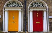 Travel photography:Dublin doors , Ireland