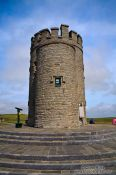 Travel photography:O'Brien's Tower at the Cliffs of Moher , Ireland
