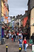 Travel photography:The main pub street in Galway , Ireland