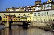 Travel photography:The Ponte Vecchio in Florence, Italy