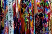 Travel photography:Origami paper cranes in Hiroshima, Japan