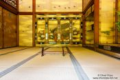 Travel photography:Interior of the Shinden at Kyoto´s Ninnaji temple, Japan