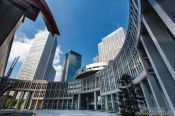 Travel photography:Area near the Tokyo Metropolitan Government Building in Shinjuku, Japan
