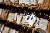 Travel photography:Wooden wishboards at Tokyo´s Meiji shrine, Japan