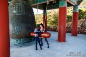 Travel photography:Giant bell at Seokguram Grotto, South Korea