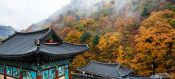 Travel photography:Haeinsa Temple complex 1, South Korea