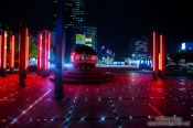 Travel photography:Seoul COEX complex by night, South Korea