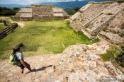 Travel photography:Oaxaca Monte Alban archeological site, Mexico