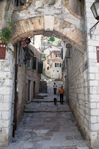 Small alley in Kotor