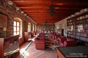 Travel photography:Library inside the castle in Budva, Montenegro