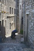 Travel photography:Small alley in Ulcinj, Montenegro