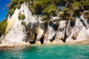 Travel photography:Rocks in Abel Tasman National Park, New Zealand