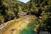 Travel photography:River in Abel Tasman National Park, New Zealand