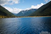 Travel photography:Lake Rotoiti near Saint Arnaud, New Zealand