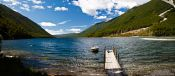 Travel photography:Jetty at Lake Rotoiti, New Zealand