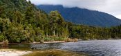 Travel photography:Lake Kaniere near Hokitika , New Zealand