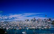 Travel photography:Auckland City of Sails, New Zealand